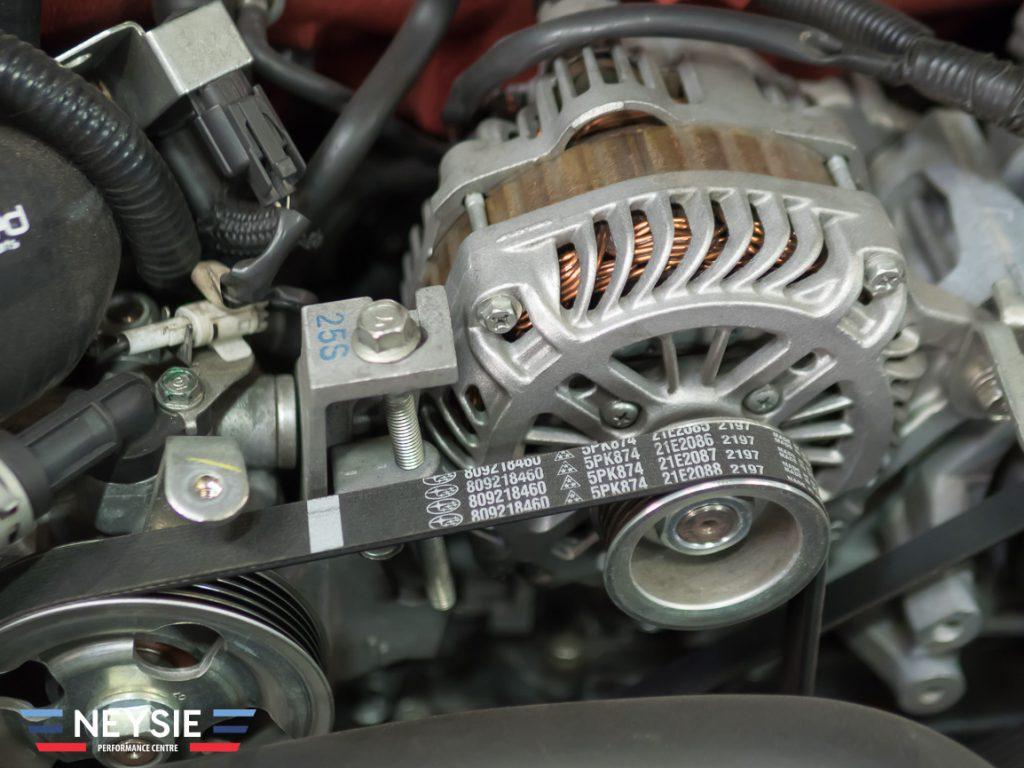 Subaru belt.