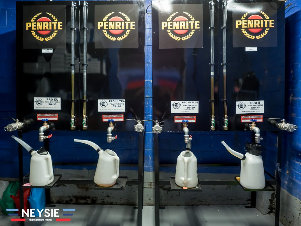 Penrite synthetic oils.