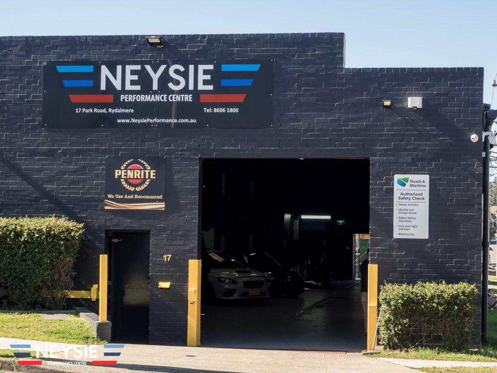 Neysie Auto Service Centre mechanic workshop.